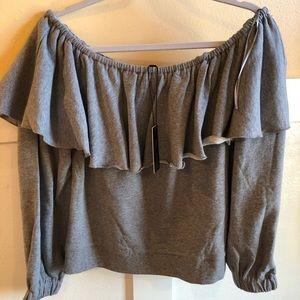 Romeo & Juliet Couture off-the-shoulder top Large